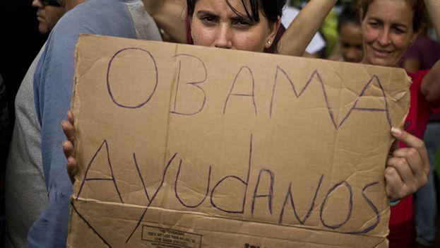 Migrantes cubanos en varados en Centroamérica. (Archivo sputniknews)