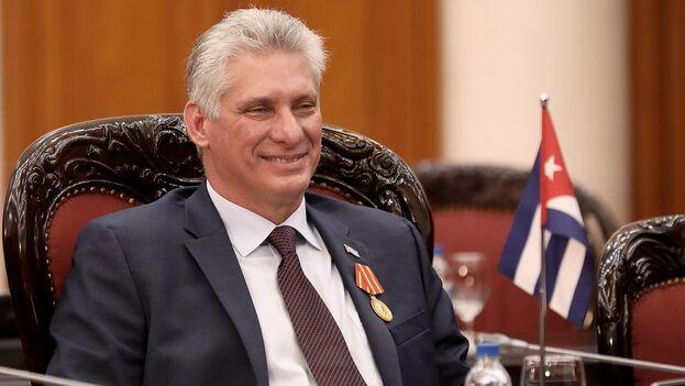 El actual mandatario cubano, Miguel Díaz-Canel. (EFE/EPA/Luong Thai Linh/Archivo)