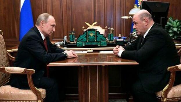 Mijail Mishustin es el nuevo primer ministro de Rusia, tras la salida de Mevedev del puesto. (EFE)