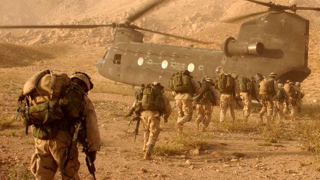 Militares estadounidenses en Afganistán. (Wikipedia)
