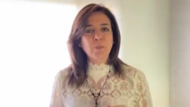 Milla Romero ocupó en agosto pasado el escaño en el Senado que dejó el expresidente Álvaro Uribe cuando renunció. (Captura)