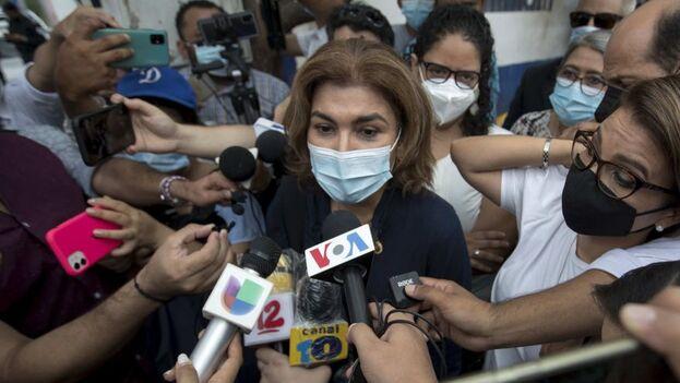 El Ministerio Público investiga a Chamorro Barrios, hija de la exmandataria Violeta Barrios de Chamorro, por presunto lavado de dinero. (EFE)