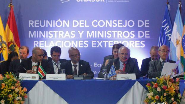 Reunión del Consejo de Ministros de Relaciones Exteriores de UNASUR. (FACEBOOK)