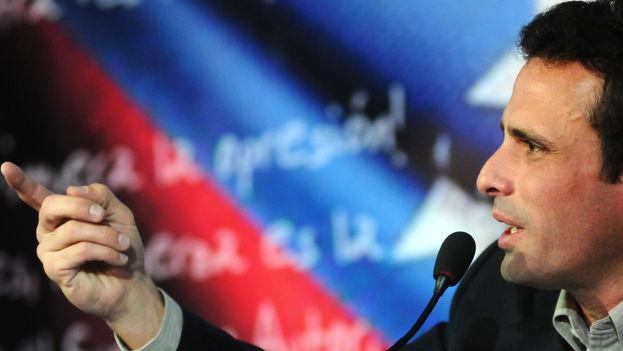 El gobernador del estado de Miranda, Henrique Capriles Radonski. (EFE)