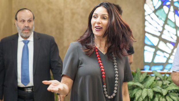 Miri Regev viajó el domingo a Cuba sin agenda oficial y por motivos estrictamente personales. (Haaretz)