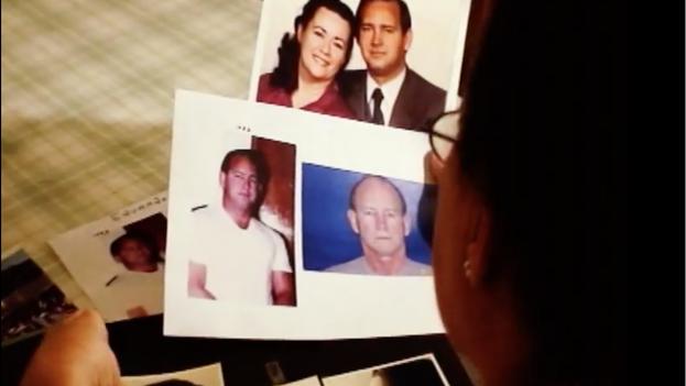 La esposa de Eduardo Arocena muestra fotos de su marido cuando estaba en libertad. (Youtube/captura de pantalla)