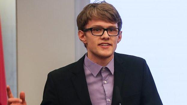 David Missal estudiaba un máster de periodismo en la Universidad de Tsinghua, en Pekín. (@DavidJRMissal)