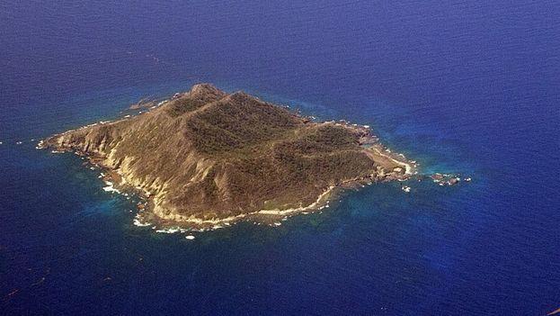 la isla de Mona frente a las costas de Puerto Rico es considerado territorio estadounidense en el Caribe. (CC)