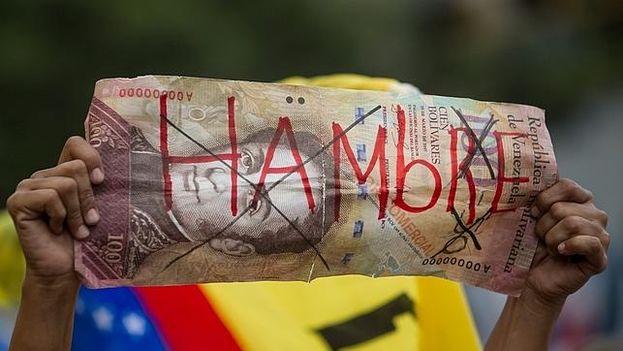 El Fondo Monetario Internacional (FMI) pronosticó en abril de 2016 que el producto interior bruto (PIB) venezolano se contraería un 8%. (EFE)
