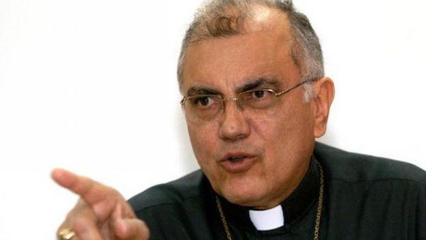 """Monseñor Baltazar Porras aseguró que la Asamblea Nacional, de mayoría opositora, """"es el único órgano del poder público con legitimidad"""". (EFE)"""
