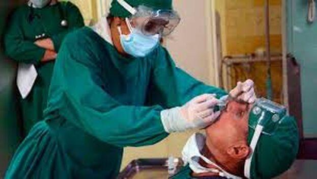 Según explicó Morales, el fármaco se aplicará en un primer momento en los municipios de Boyeros y Diez de Octubre, en La Habana. (Tribuna de La HabAna)