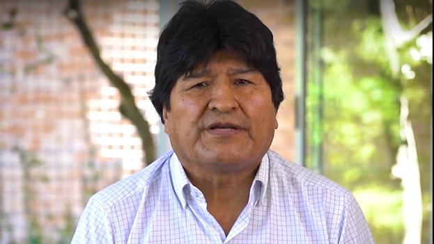 Morales está en Cuba, presuntamente por un tratamiento de salud que sigue en La Habana.