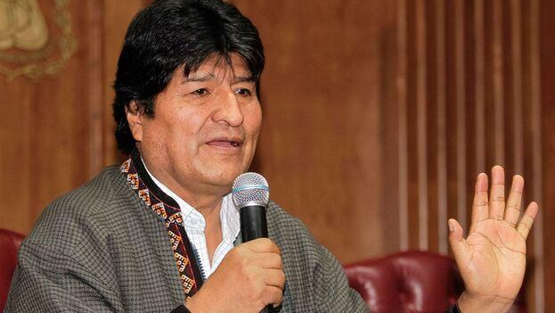 Evo Morales abandonó su país el pasado 11 de noviembre después de que las Fuerzas Armadas lo forzaran a dejar el cargo y recibió asilo en México. (EFE)