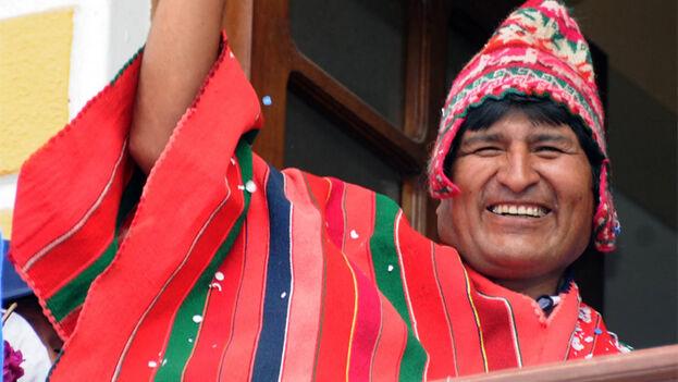 Morales es el primer presidente indígena elegido en las urnas en Bolivia, aunque no se ha librado de las críticas de estos pueblos.