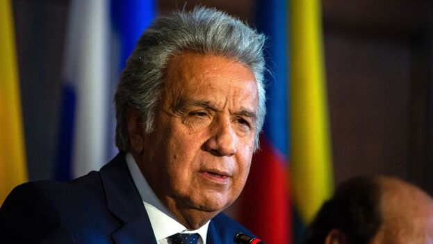 Moreno será el orador principal del panel presidencial con el que se cierre el foro. (EFE)