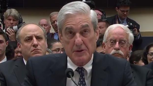 Mueller declara este miércoles ante el Congreso sobre su polémico informe. (captura)