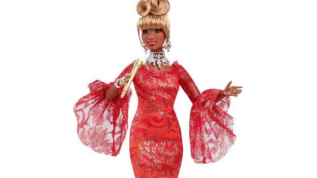 Muñeca Barbie de la cantante Celia Cruz lanzada con motivo del inicio del Mes de la Herencia Hispana. (EFE/Mattel)