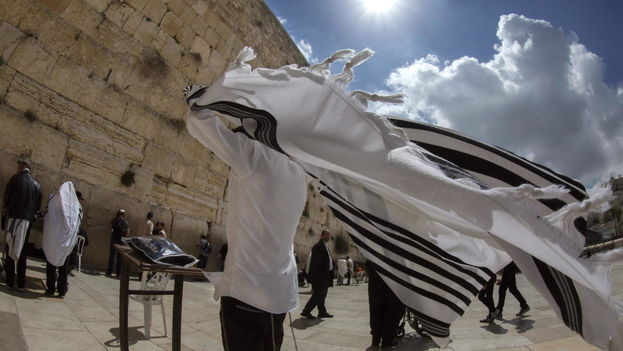 El Muro de las Lamentaciones en Jerusalén, Israel. (EFE)