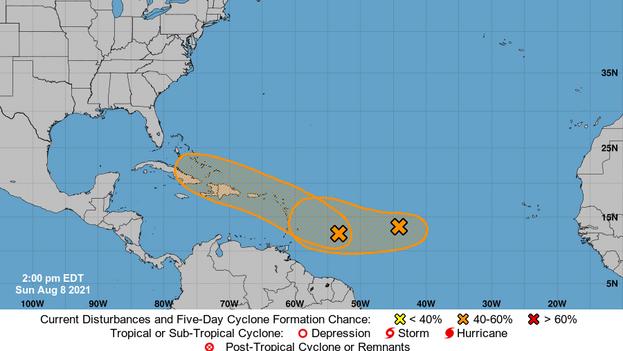 La NOAA pronostica para la actual temporada que en el Atlántico se registrará una actividad por encima del promedio. (NOAA)