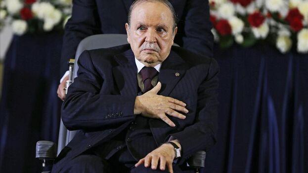 """Se desconoce el rostro de Nachinachi Zoulikha Chafika, conocida como """"la señora Maya"""" y presunta hija de Bouteflika. (EFE)"""