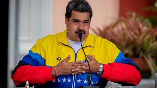 El mandatario venezolano hizo este pronunciamiento a propósito del fin de la visita de la relatora especial de las Naciones Unidas, Alena Douhan. (EFE/Rayner Peña)