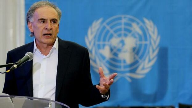 En la imagen, el enviado de las Naciones Unidas para Bolivia, Jean Arnault. (EFE)