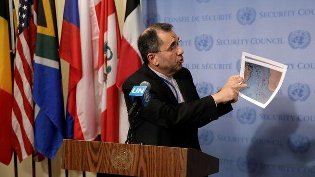 El embajador de Irán ante las Naciones Unidas, Majid Takht-Ravanchi. (EFE)
