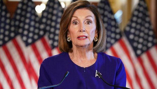 Nancy Pelosi, reticente durante mucho tiempo a dar el paso, anunció la investigación que puede conducir a Trump a un juicio político.