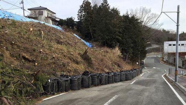 Naraha, localidad nipona, ubicada a unos 17 kilómetros al sur de la accidentada central de Fukushima Daiichi. (CC)