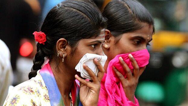 """A última hora de la tarde del martes, el primer ministro indio, Narendra Modi, anunciaba el comienzo del """"confinamiento total"""" durante 21 días. ( EFE/EPA/JAGADEESH NV)"""