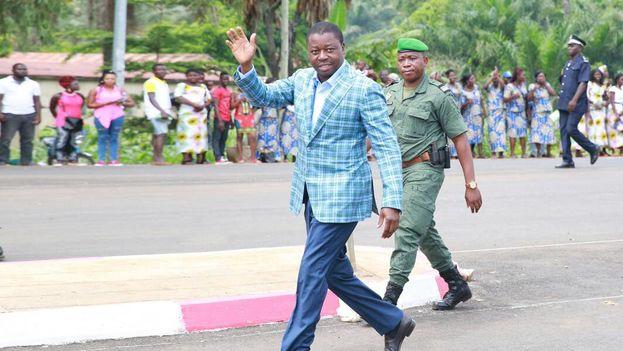 Ñasingbé cumple su tercer mandato de cinco años tras ganar las elecciones en 2005, 2010 y 2015. (@FEGnassingbe)