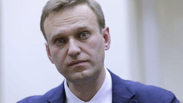 Navalni afirma que no quiere ser un líder opositor en el exilio. (EFE/Archivo)