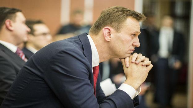 Navalni fue sentenciado este lunes por reincidencia a la hora de infringir el reglamento que rige la convocatoria de actos públicos. (EFE)