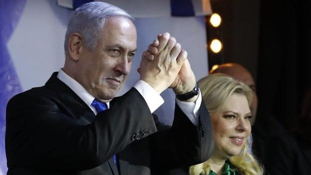 Netanyahu está acusado de cohecho, fraude y abuso de confianza, por lo que el Supremo debe determinar si puede aspirar a repetir como primer ministro.  (EFE)