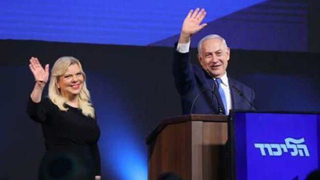 Netanyahu tiene más posibilidades de formar Gobierno con una coalición de partidos de derecha y religiosos. (EFE)