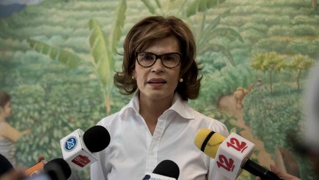 La periodista y aspirante a la presidencia de Nicaragua Cristiana Chamorro Barrios. (EFE/ Jorge Torres/Archivo)