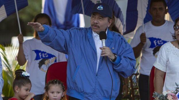 El presidente de Nicaragua, Daniel Ortega. (EFE/Jorge Torres/Archivo)