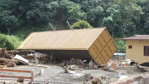 El fenómeno Iota puede convertirse en un huracán mayor cuando se aproxime a partir del domingo a Nicaragua y Honduras, donde aún no se recuperan del paso de Eta. (EFE/ Marcelino Rosario/Archivo)