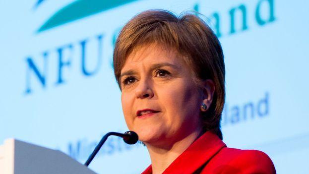 La primera ministra escocesa, Nicola Sturgeon, reveló sus intenciones en vísperas de que May invoque el artículo 50 del Tratado de Lisboa. (firstminister.gov.scot )