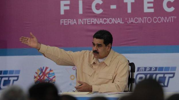 Nicolás Maduro dijo que escuchará las propuestas de la Asociación Nacional de Criptomonedas que, según declaró uno de sus integrantes, augura la desaparición del dinero fiduciario en el futuro. (EFE)