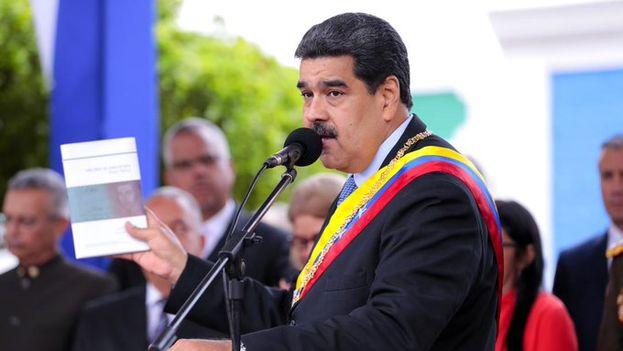Nicolás Maduro volvió a rechazar la ayuda humanitaria de EE UU y Colombia. (NicolasMaduro)