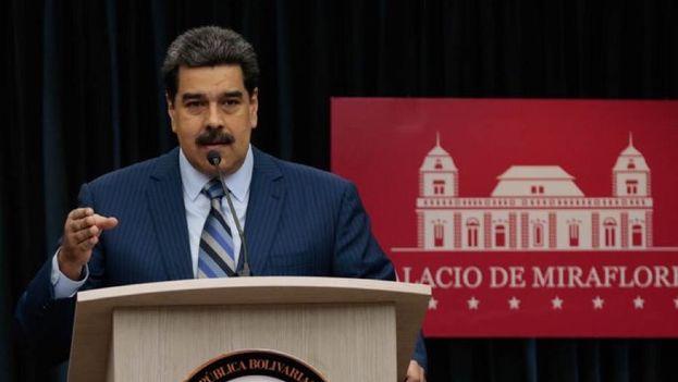 Nicolás Maduro denunció una vez más un plan de EE UU para derrocarlo, con apoyo de Colombia y Brasil, con quienes comparte frontera y, ahora, enemistad política. (Prensa Presidencial)