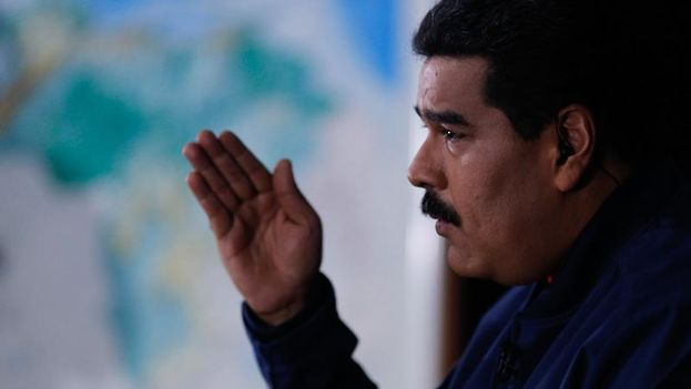 Nicolás Maduro anuncia el inicio de la campaña de apoyo a Cabello y otros altos funcionarios en su programa En contacto con Maduro. (@NicolasMaduro)
