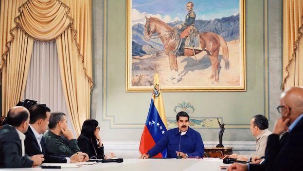 Los anuncios económicos fueron realizados por Nicolás Maduro en el Consejo de Ministros de este miércoles. (@NicolasMaduro)