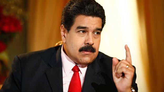 """Nicolás Maduro dijo apelar a la """"buena fe"""" de su homólogo estadounidense, Donald Trump. (EFE)"""