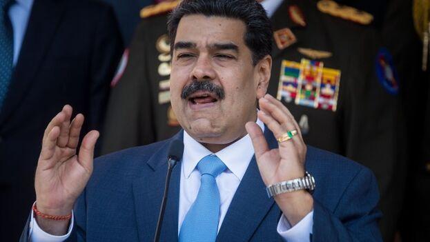 El venezolano Nicolás Maduro, en una imagen de archivo. (EFE/ Miguel Gutiérrez)