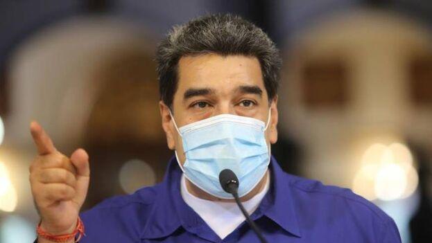 """Nicolás Maduro asegura que la vacuna china llegará a Venezuela en """"los próximos días"""". (EFE/Prensa Miraflores)"""