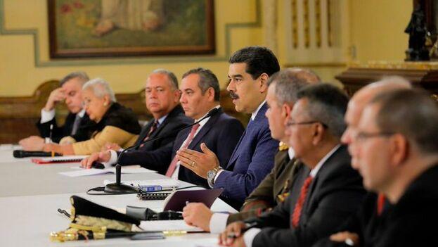 Nicolás Maduro anunció una futura reforma para endurecer las penas por traición a la patria. (@NicolasMaduro)