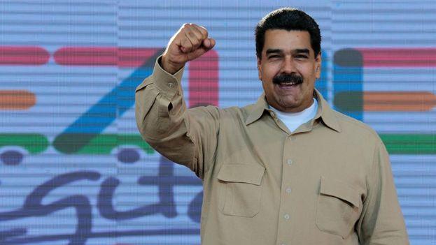 """Nicolás Maduro rechazó """"el intervencionismo grosero"""" que, a su juicio, algunos gobiernos extranjeros """"pretenden dictarle a Venezuela"""". (EFE)"""
