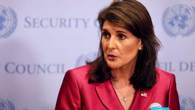 Nikki Haley fue elegida por Trump para ser la voz de EE UU en Naciones Unidas pese a sus críticas durante la campaña electoral y su falta de experiencia en política exterior. (@nikkihaley)